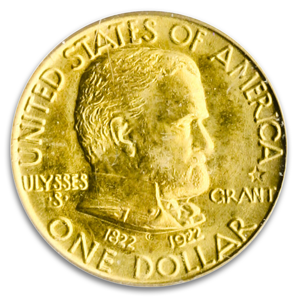 A Sample GOLD COMMEMORATIVES Coin
