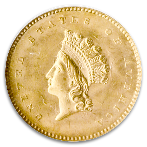 A Sample GOLD DOLLARS Coin