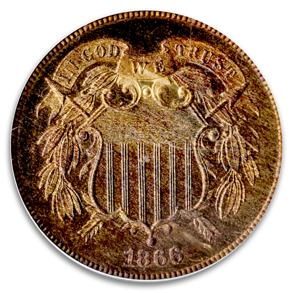 A Sample TWO CENTS Coin