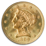 1899 Liberty Quarter Eagle