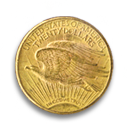 $20 Saint Gaudens Double Eagle Gold Coin
