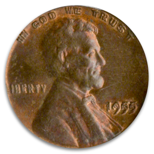 The Ultimate Double Take: The 1955 Lincoln Double Die Coin