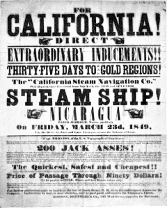 Gold Rush newspaper