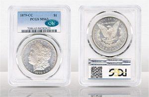 1879-CC Morgan $1 PCGS MS63 CAC - $10,092