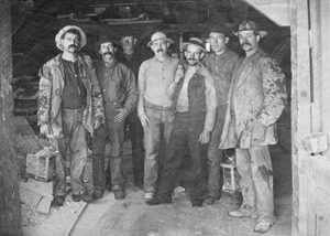 Comstock miners