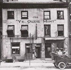 First Mint Building, circa 1792