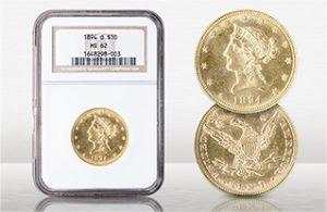 1894-O $10 Liberty NGC MS62