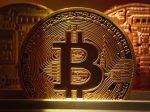 Close up of Bitcoin