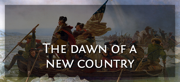 The dawn of a new country