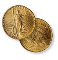Saint Gauden's Double Eagle No Motto