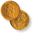 No Stars Capped Bust to Right Quarter Eagle