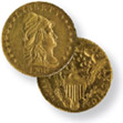 Stars on Obverse Capped Bust to Right Quarter Eagle