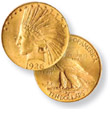 $10 Indian Eagle Gold Coin