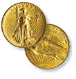 High Relief Saint Gaudan's Double Eagle Gold Coin