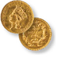 Gold Indian Princess Gold Coin