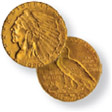 $2.50 Indian Quarter Eagle Gold Coin