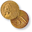 $5 Indian Half Eagle Gold Coin