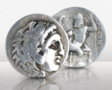 Kingdom Of Macedon Alexander The Great 336-323 B.C. AR Drachm F