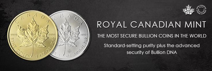 Royal Canadian Mint Bullion DNA   Blanchard and Company
