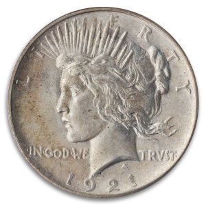 The 1921 Peace Dollar