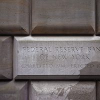 Sign table of the Federal Reserve Bank of New York