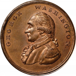 George Washington Copper Medallion