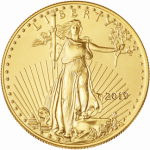 2019 1 oz. gold american eagle obverse