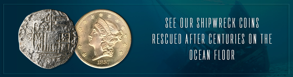 See our shipwreck coins  rescued after centuries on the ocean floor