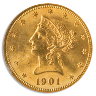$10 Liberty MS64 Certified