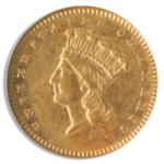 1859-S $1 Gold
