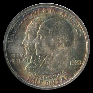 Monroe - Adams Half Dollar - 1923