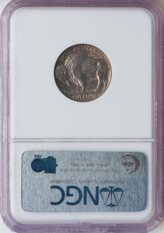 1937-D Buffalo Nickel 3 Legs NGC AU58 CAC