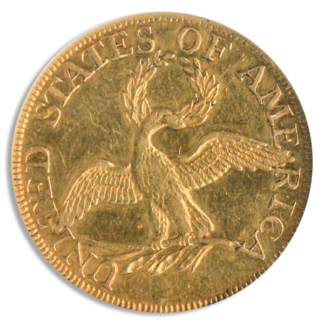 1795 $5 Draped Bust Small Eagle NGC AU58 CAC