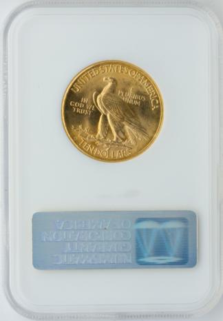 1914-D $10 Indian NGC MS64 CAC