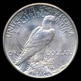 1921 Peace $1 PCGS MS65 CAC