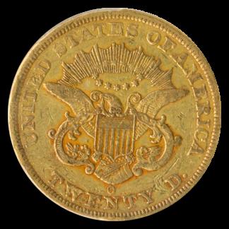 1851-O $20 Liberty PCGS XF45