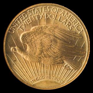 1927 $20 Saint Gaudens PCGS MS66 CAC