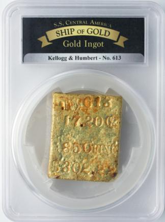 K & H GOLD BAR SSCA #613 17.2 oz   .850 Fine  $302.22