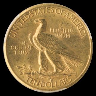 1911-D $10 Indian PCGS MS61