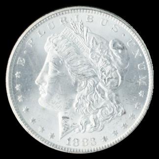 1883-CC Morgan $1 GSA NGC MS64