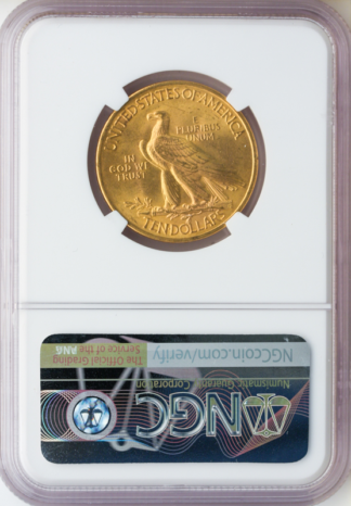 1932 $10 Indian NGC MS65 CAC