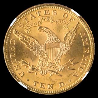 1901 $10 Liberty NGC MS66 CAC