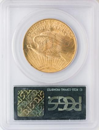 1924 $20 Saint Gaudens PCGS MS66 CAC