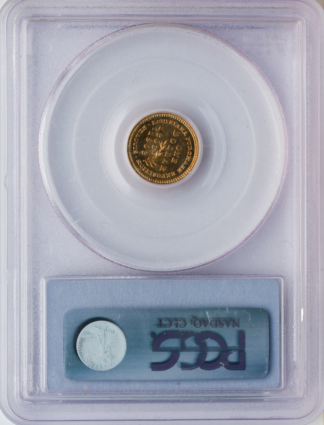 1903 $1 Jefferson Commemorative Gold Coin PCGS Mint State 65(MS65)