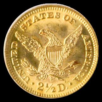 1893 $2 1/2 Liberty PCGS MS63
