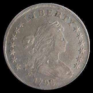 1798 Draped Bust $1 PCGS VF30