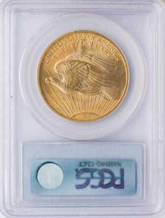 1907 $20 Saint Gaudens PCGS MS64 CAC
