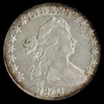 1805 Draped Bust Half Dollar PCGS XF40 CAC