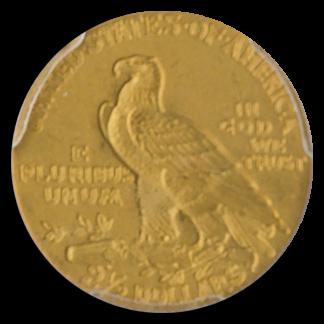 1915 $2 1/2 Indian PCGS PR64 CAC