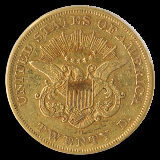 1857-O $20 Liberty PCGS XF40